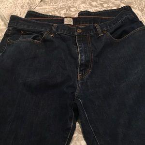 Men's J Crew vintage slim straight jeans. 36x34.